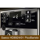 Der Saeco HD8924/01 PicoBaristo hat ein LED-LCD-Display