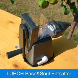 Base/&Soul Funktionsteil Entsafter steingrau//weiß Lurch