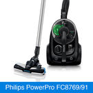Beutelloser Philips Staubsauger mit PowerCyclone 5-Technologie