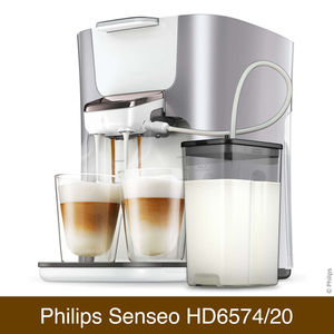 Kaffeepadmaschine Philips Senseo HD6574/20 Latte Duo Plus im Vergleich