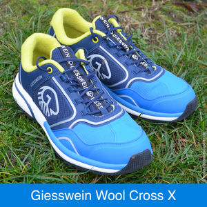 Giesswein Wool Cross X Cyanblau Women im Test.