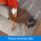 Der iRobot Roomba 960 mit intelligenter iAdapt® Navigation