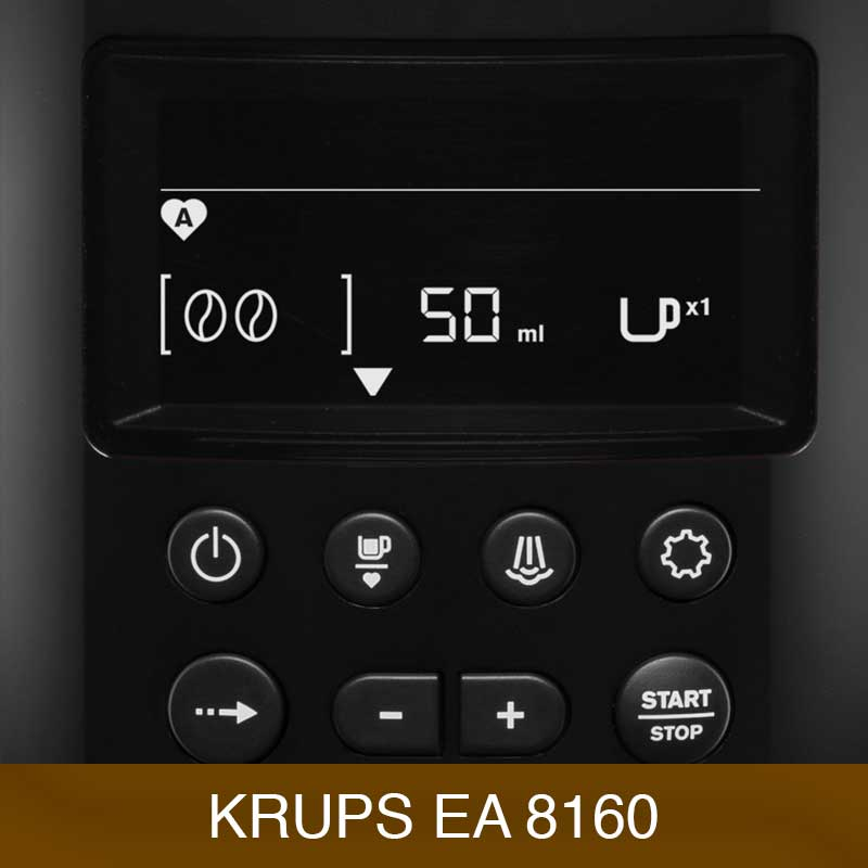 Krups kaffeevollautomat ea 8160