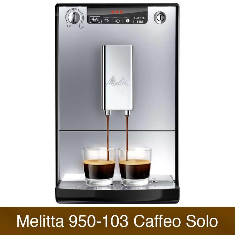 melitta caffeo solo e 950 103 vergleich kaffeevollautomaten