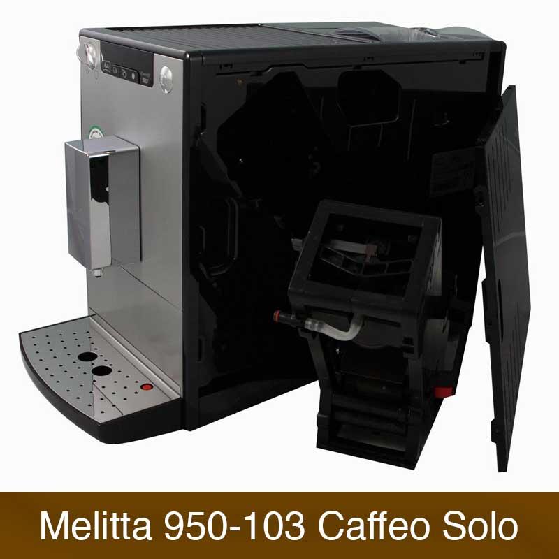 Melitta Caffeo Solo E 950-103 Vergleich   Kaffeevollautomaten