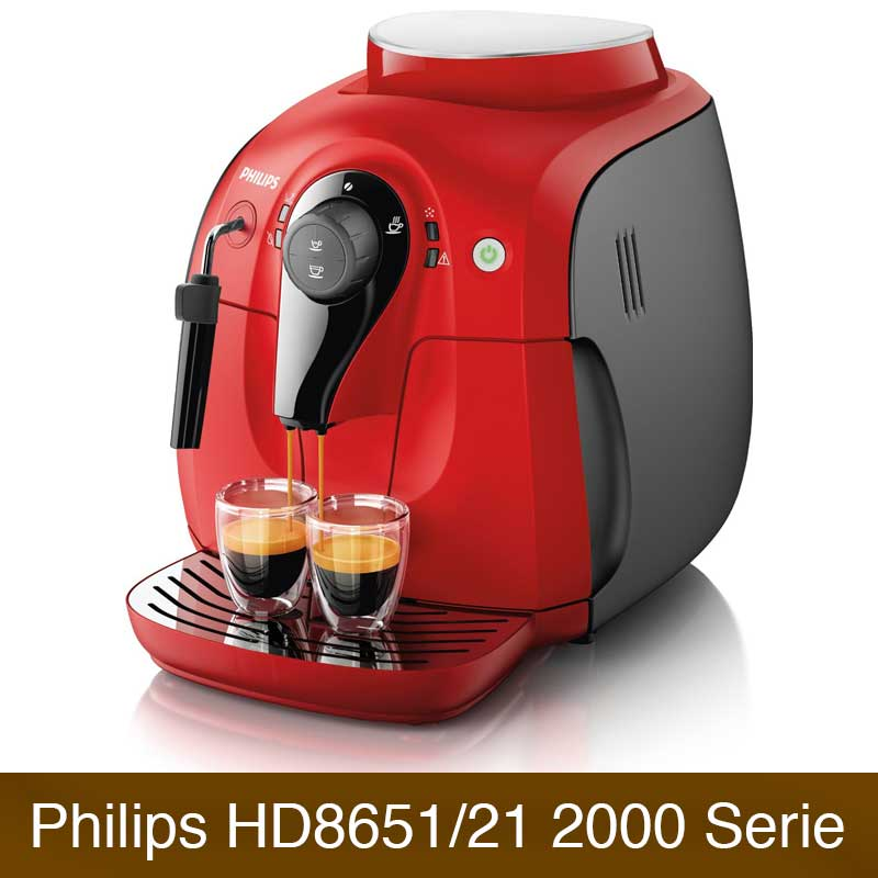 philips hd8651 21 2000 serie vergleich kaffeevollautomaten. Black Bedroom Furniture Sets. Home Design Ideas
