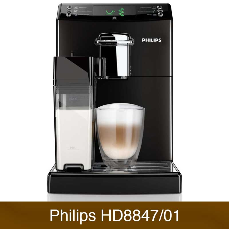 philips hd8847 01 4000 serie im vergleich kaffeevollautomaten. Black Bedroom Furniture Sets. Home Design Ideas
