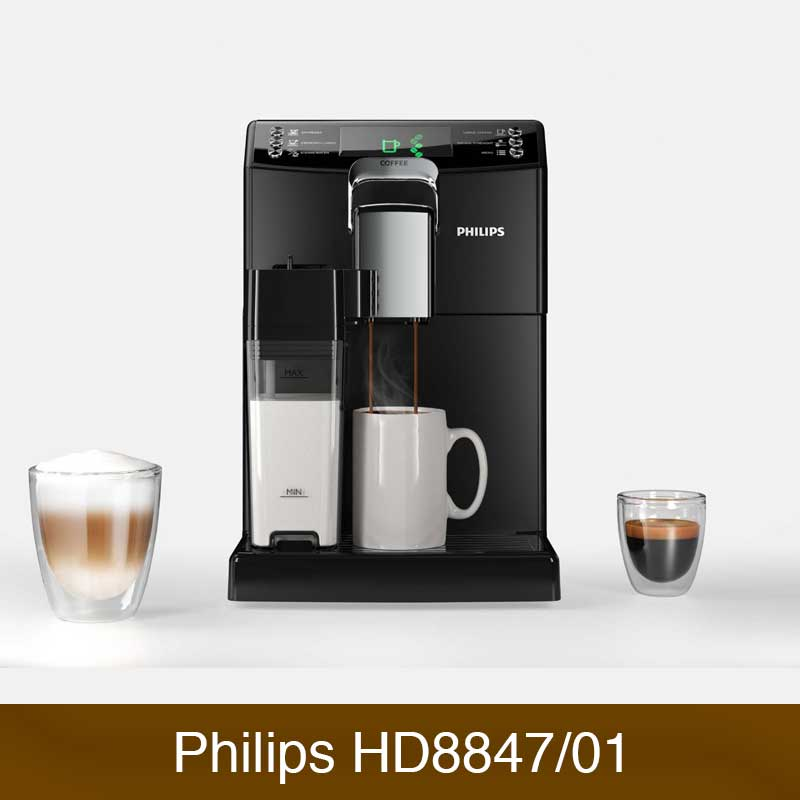 philips hd8847 01 4000 serie vergleich kaffeevollautomaten. Black Bedroom Furniture Sets. Home Design Ideas