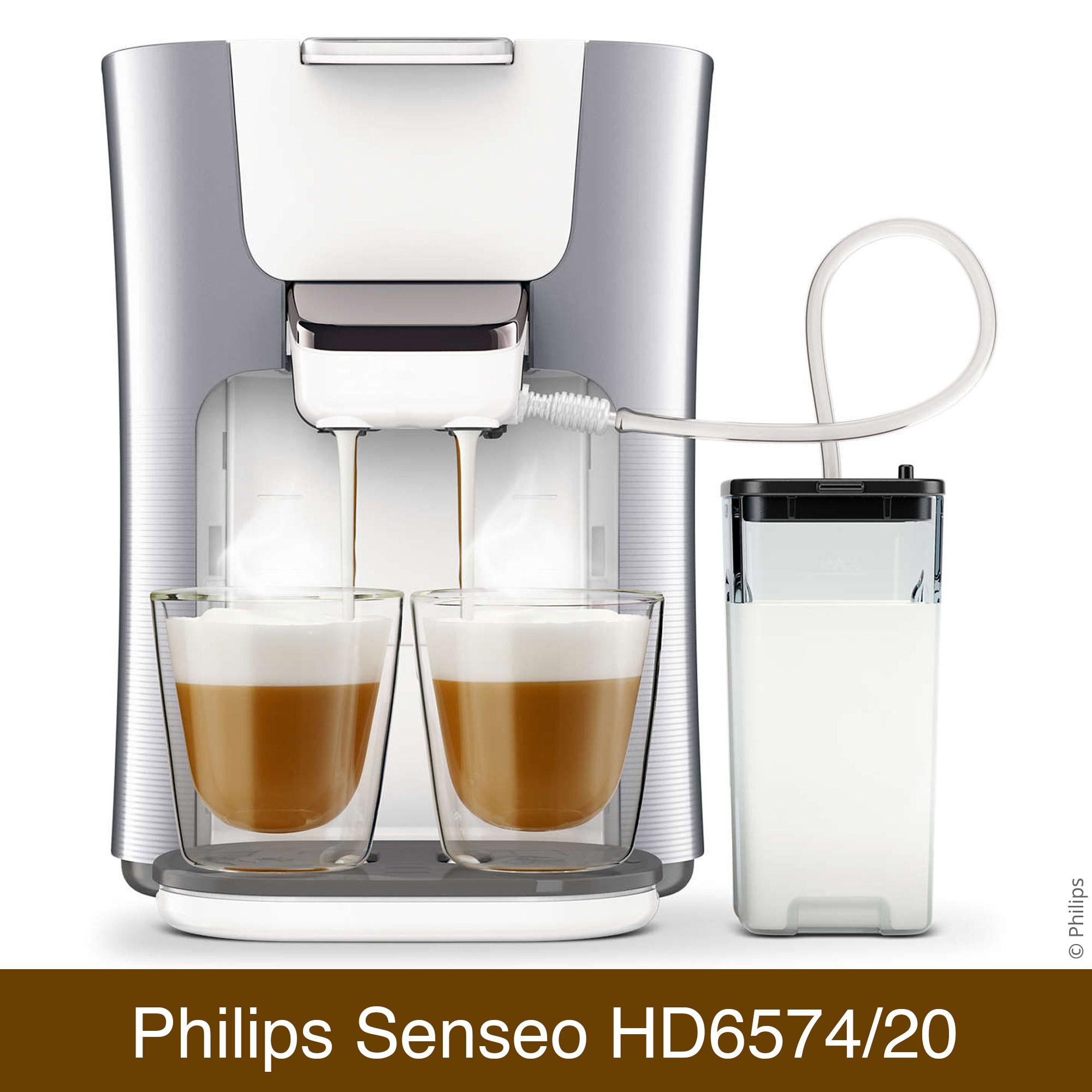 Philips Senseo HD6574/20 Latte Duo Vergleich | Kaffeepadmaschine