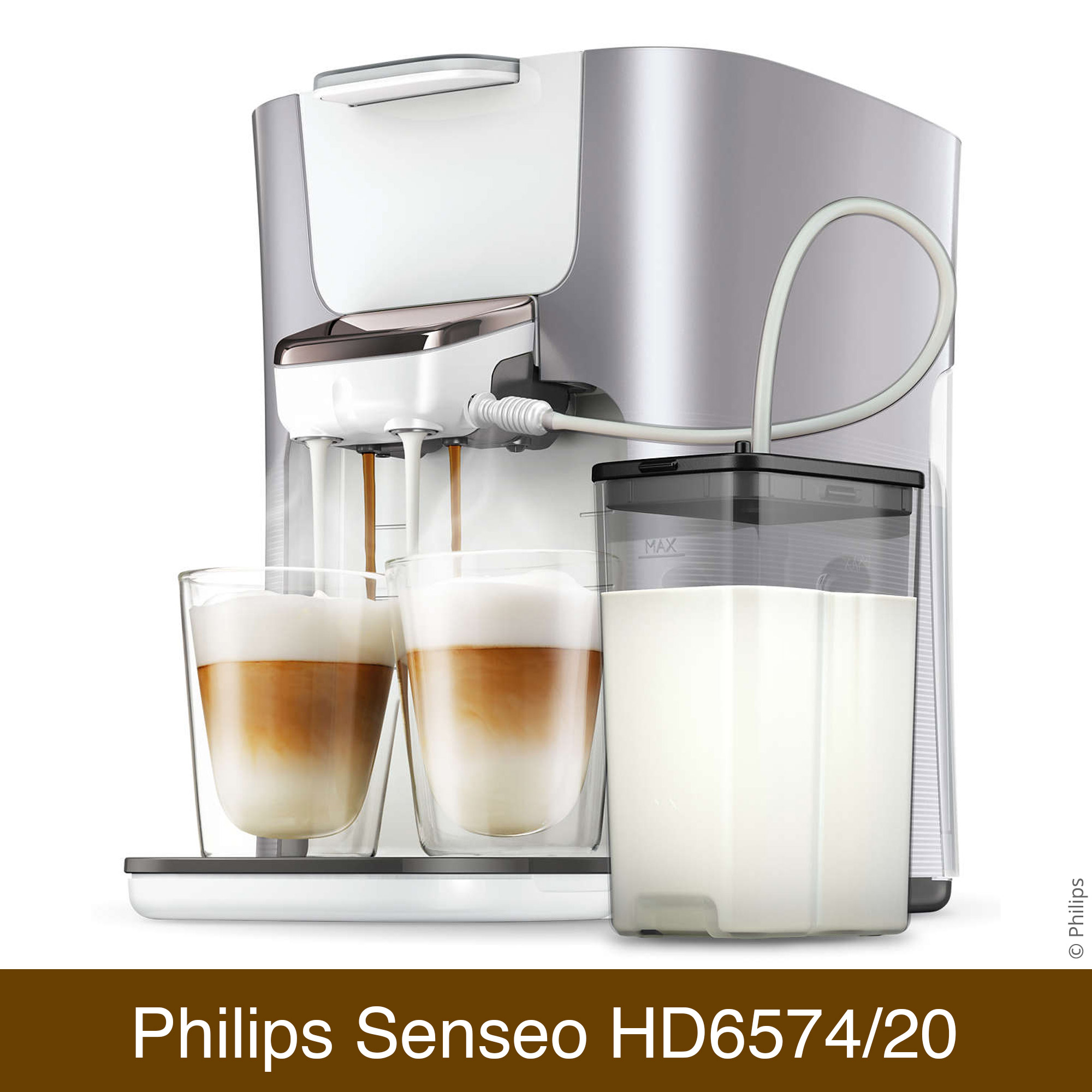 philips senseo hd6574 20 latte duo vergleich kaffeepadmaschine. Black Bedroom Furniture Sets. Home Design Ideas