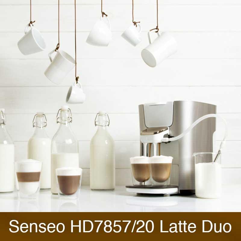 Philips Senseo HD7857/20 Latte Duo Im Vergleich