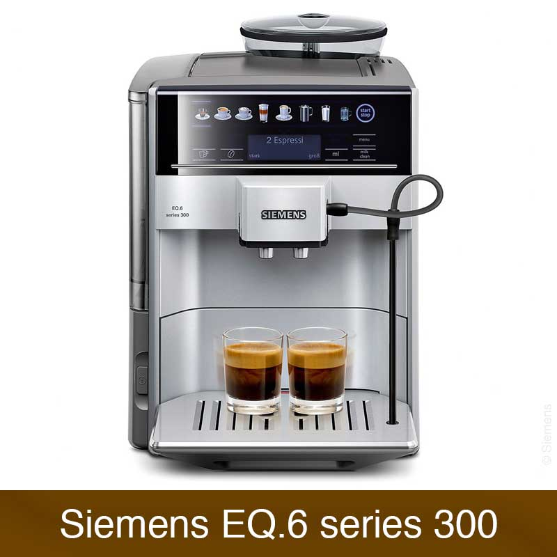 siemens eq 6 series 300 te613501de im vergleich kaffeevollautomaten. Black Bedroom Furniture Sets. Home Design Ideas