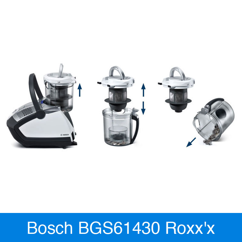bosch bgs61430 roxx x vergleich staubsauger. Black Bedroom Furniture Sets. Home Design Ideas