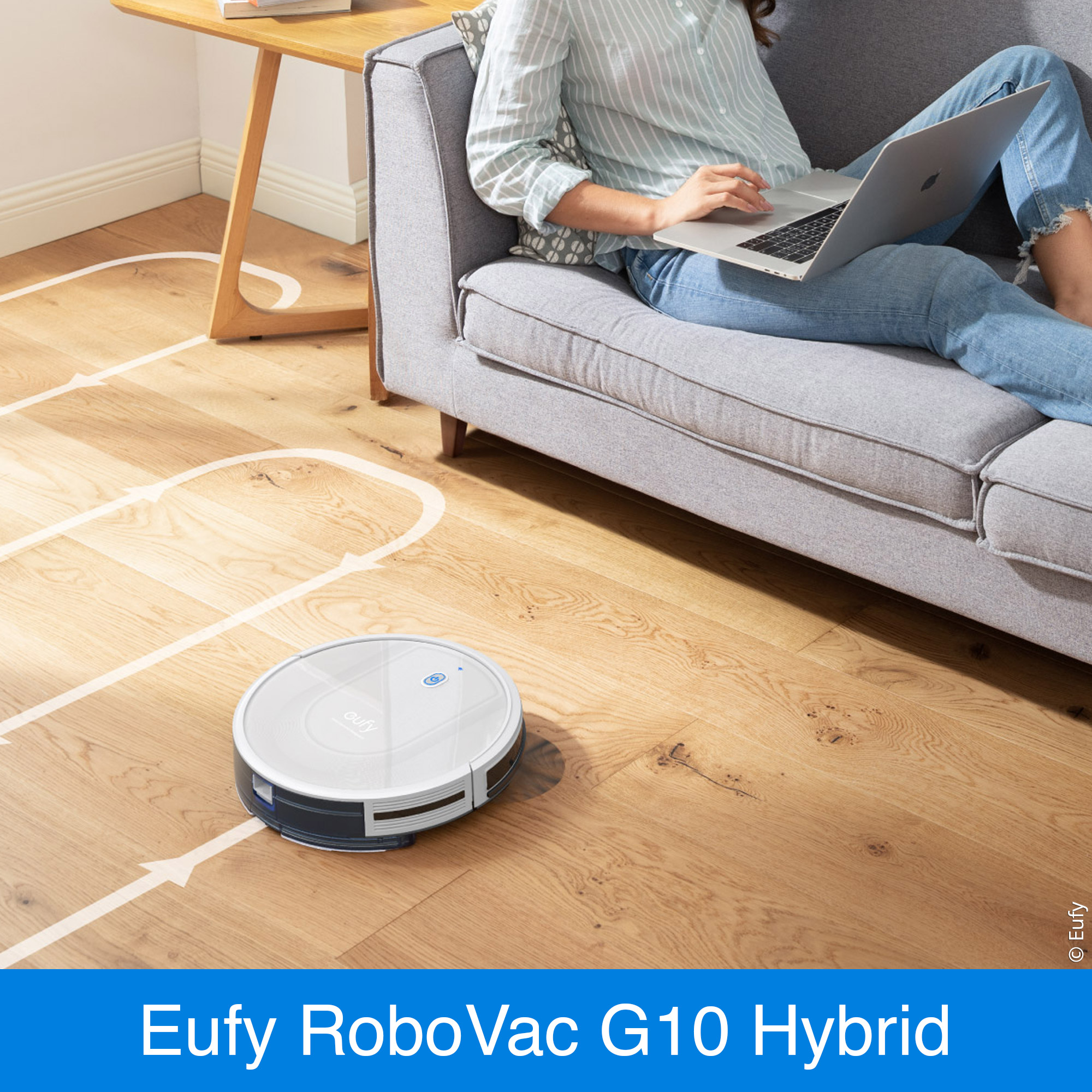 Smart Dynamic Navigation des RoboVac G10 Hybrid