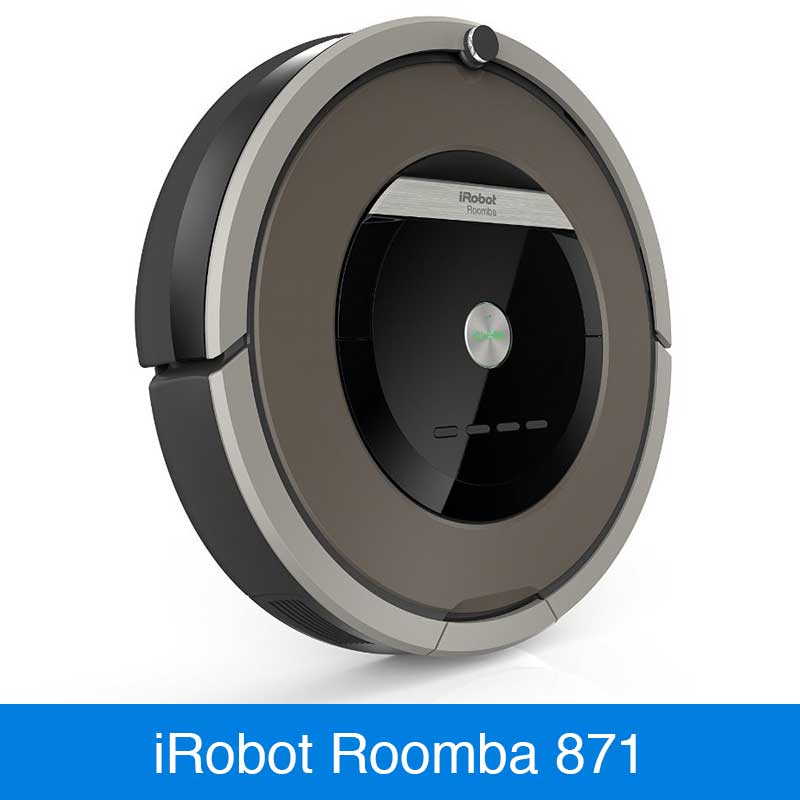 irobot roomba 871 im vergleich saugroboter. Black Bedroom Furniture Sets. Home Design Ideas