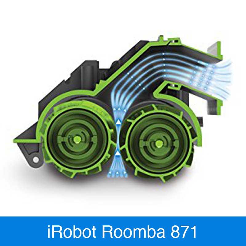 irobot roomba 871 im vergleich saugroboter. Black Bedroom Furniture Sets. Home Design Ideas