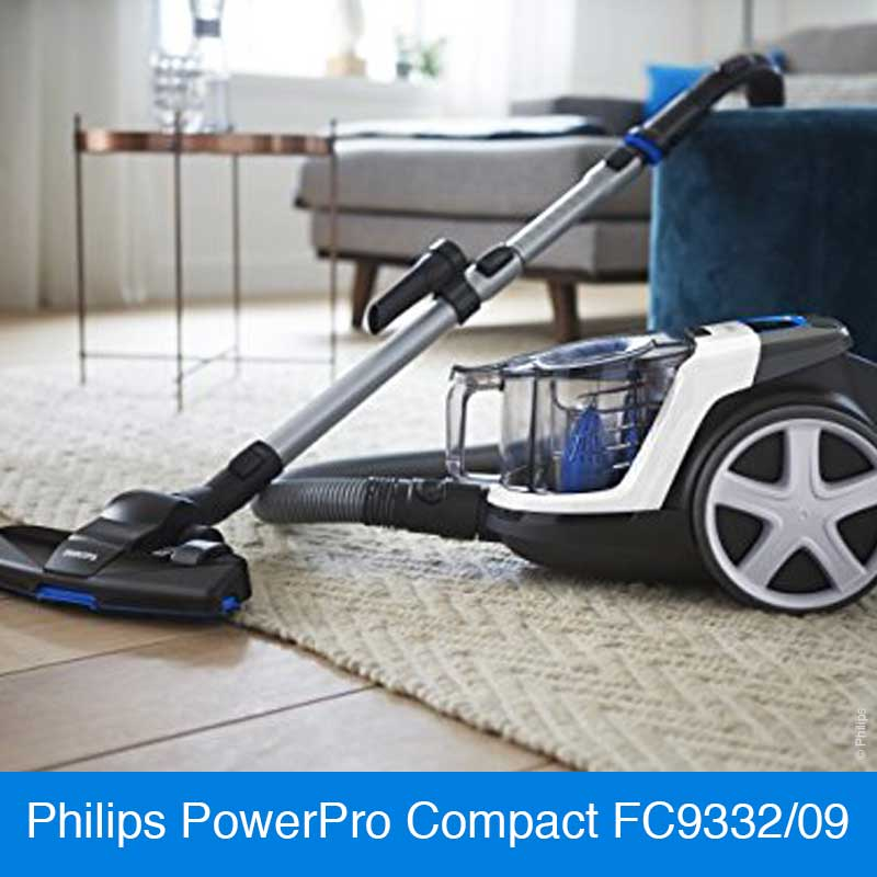 Philips PowerPro Compact FC9332/09 Staubsauger ohne Beutel © Philips
